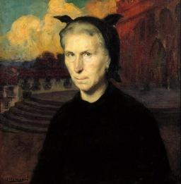 Mujer vasca by Fernando Álvarez de Sotomayor