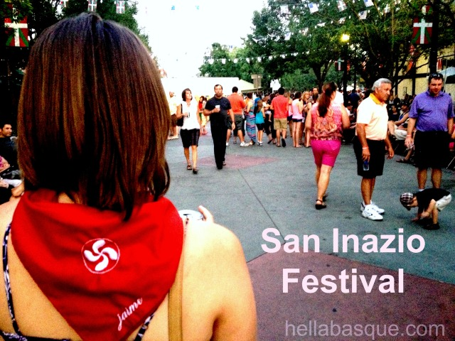 San Inazio banner
