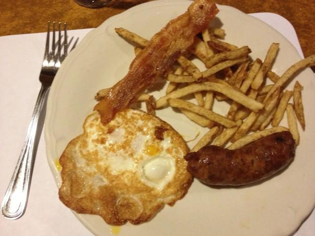 Centro Basco breakfast